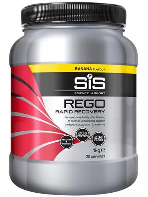 SiS Rego Rapid Urheiluravinto Banana 1kg , monivärinen